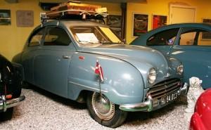 Vagns SAAB-museum
