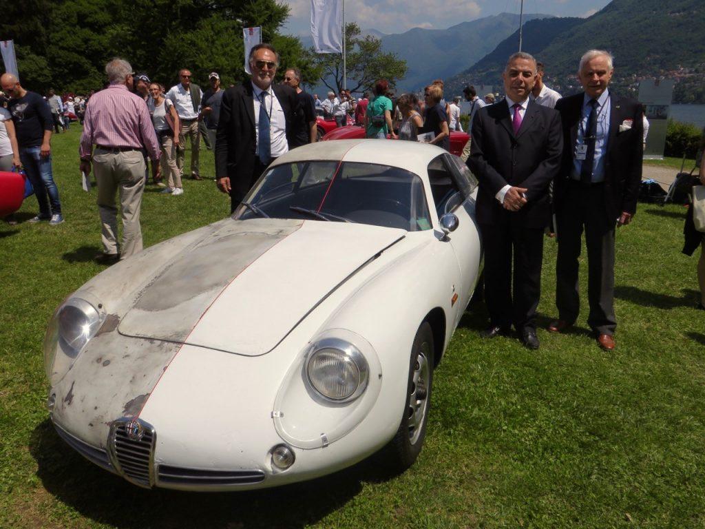Corrado Loprestos delvist præserverede og delvist restaurerede Alfa Romeo SZ prototype