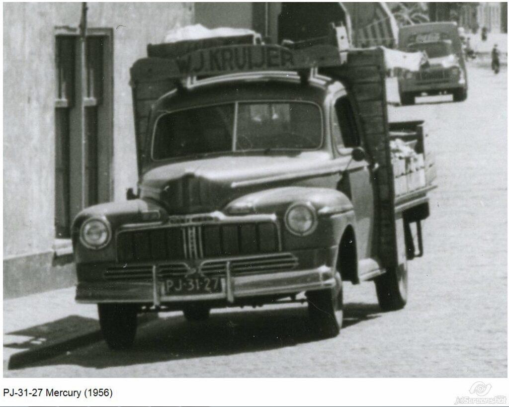 Typisk ombygning af en 10-15 år gammel og udtjent bil, kunne være som her med lad. På den måde fik den lov at tjene lidt længere i stedet for blot at ryge til ophug. (modelfoto)