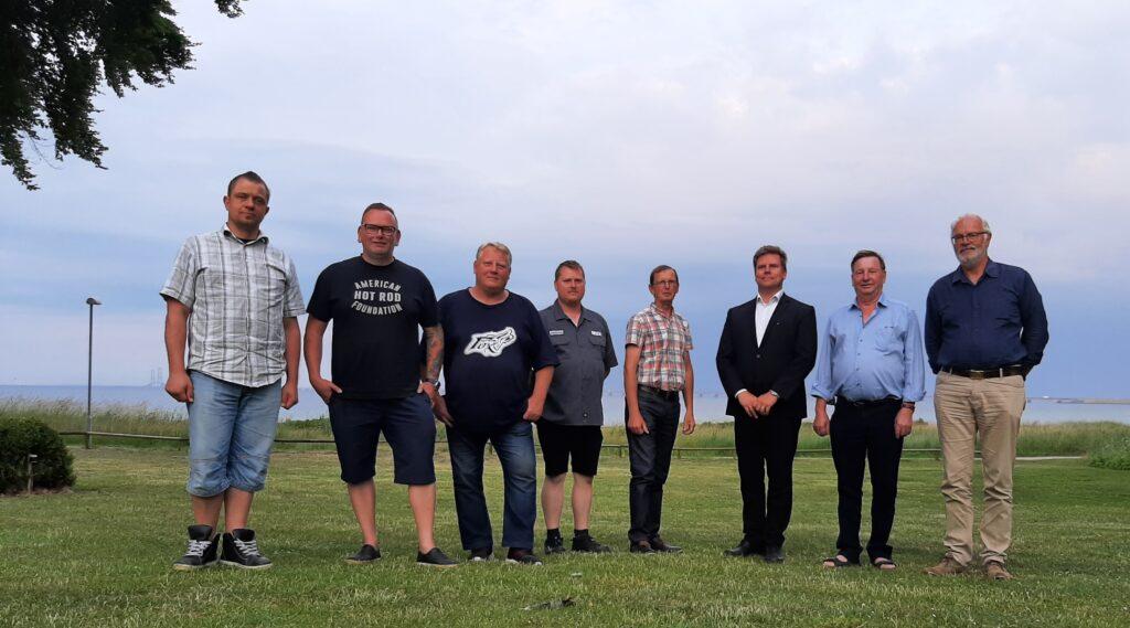 Repræsentanterne for DSRA, FDA, MhS og DASU deltog i et møde ved Nyborg, hvor vi både så bagud på de seneste 3 år, men også frem mod de næste opgaver.