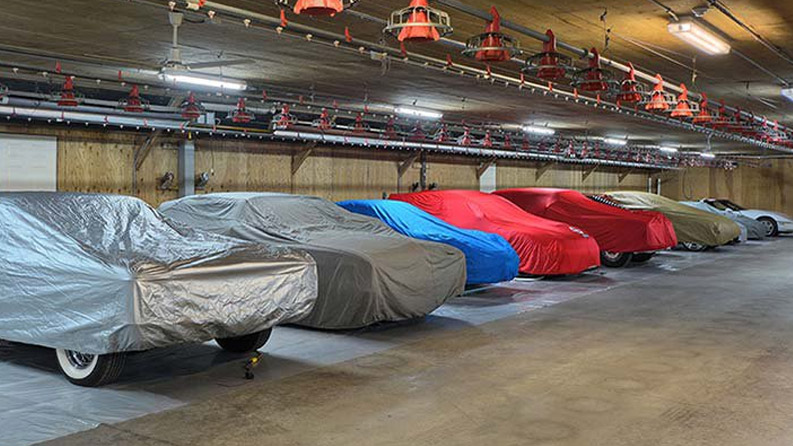 Kun 18 gange om året hiver vi coveret af herligheden i garagen, og tager den med på tur